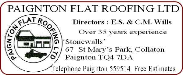 PaigntonFlat Roof Logo